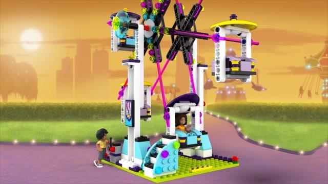 Du Montagnes Parc D'attractions Les 41130 Lego Friends Russes 0kOP8wn