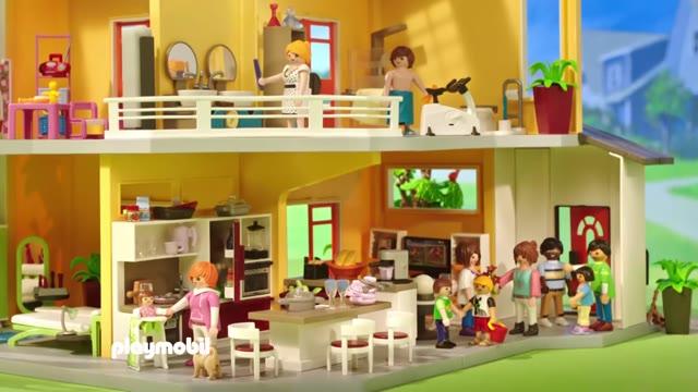 Nouvelle maison moderne - PLAYMOBIL City Life - 9266